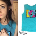 Chrissy Costanza: Teal MTV Tee