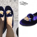 Debby Ryan: Fox Face Loafers