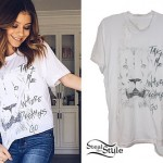 G Hannelius: Lion Sketch T-Shirt