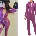 Jasmine Villegas: Purple Skinny Onesie