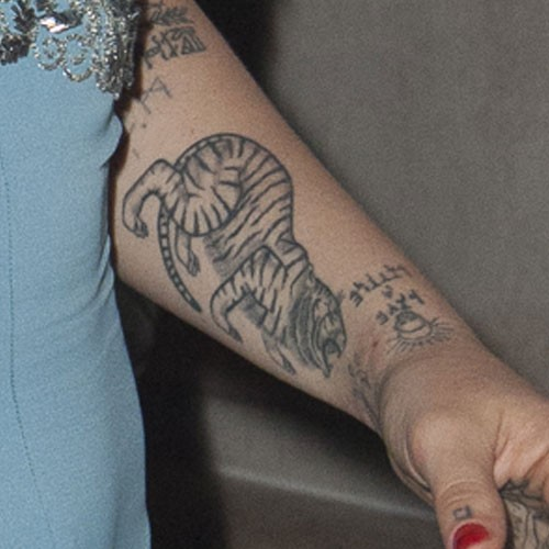 Jemima Kirke TattoosJemima Kirke Arm Tattoo