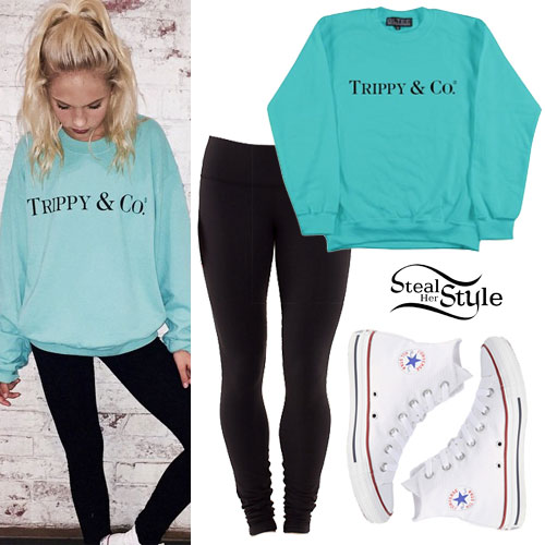 Jordyn Jones: 'Trippy & Co.' Sweatshirt