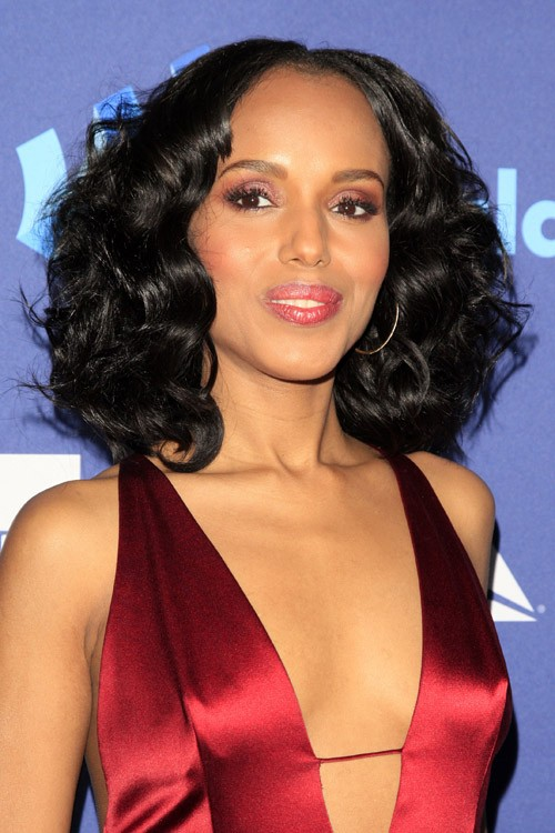 Kerry Washington's Hairstyles & Hair Colors | Steal Her Style