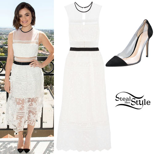 Lucy Hale at Mark Spring Beauty & Fashion Collection Launch. April 8th, 2015 - photo: lucyhalefrance