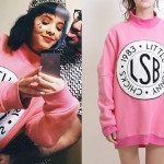 Melanie Martinez: Pink Sweater Dress