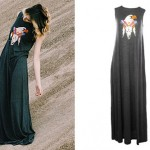 Mindy White: Eagle Maxi Dress