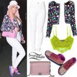 Nicki Minaj: Pinkprint Jordans Outfit