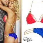 Pia Mia Perez: Lace String Bikini