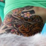 ruby-rose-tiger-arm-tattoo