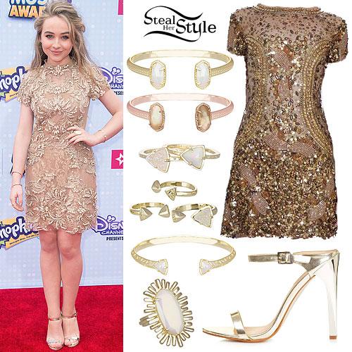 Sabrina Carpenter: 2015 Radio Disney Music Awards Outfit