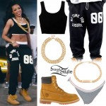 Tinashe: 'Drop That Kitty' Outfit