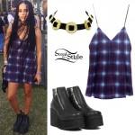 Zoë Kravitz: 2015 Coachella Outfit