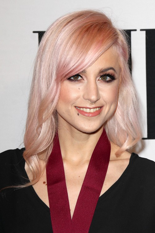 Carah Faye Charnow Wavy Pink Hairstyle Steal Her Style
