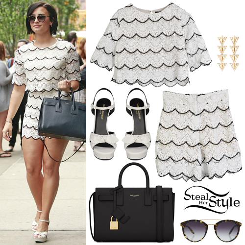 Demi Lovato leaving the Greenwich Hotel in New York. May 28th, 2015 - photo: PacificCoastNews
