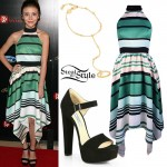 G. Hannelius: 2015 Gracies Awards Outfit