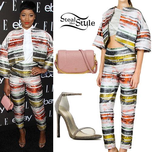 Keke Palmer: 2015 ElleWIM Outfit