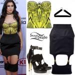 Lauren Jauregui: 2015 BBMAs Outfit