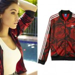 Madison Beer: Roses Adidas Jacket