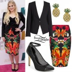 Meghan Trainor: Bird & Flowers Skirt
