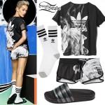 Rita Ora: Adidas Originals White Smoke Pack