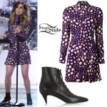 Sydney Sierota: Star Dress, Booties