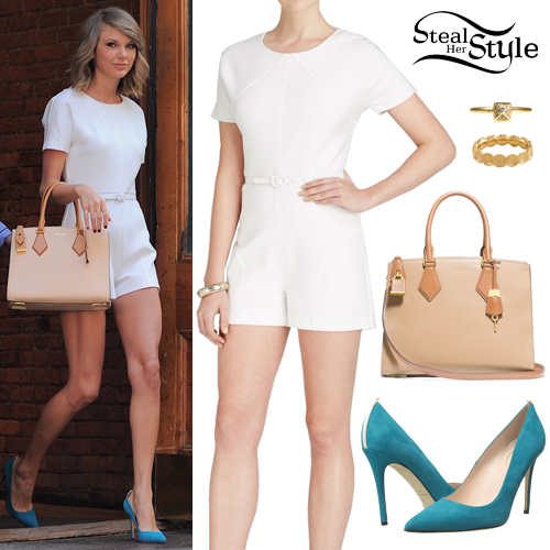taylor_swift06 All White Party Dress Ideas for Women-19 Perfect White Outfits
