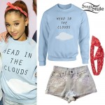 Ariana Grande: 'Head In The Clouds' Sweater