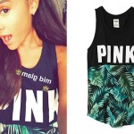 Ariana Grande: Palm Leaf Tank Top