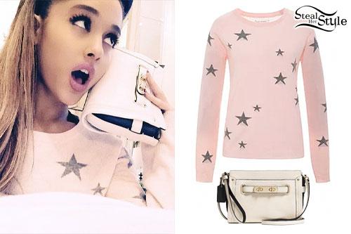 Ariana Grande: Star Print Sweater