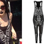 Ash Costello: Skeleton Jumpsuit