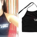 Becky G: 'Los Angeles 1984' Halter Top