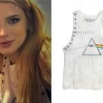 Bella Thorne: Pink Floyd Muscle Tee