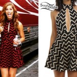 Cassadee Pope: Zig-Zag Dress