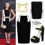 G. Hannelius: Colorblock Top & Skirt