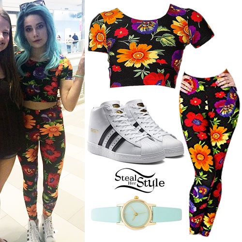 Adidas Outfits Steal Her Style