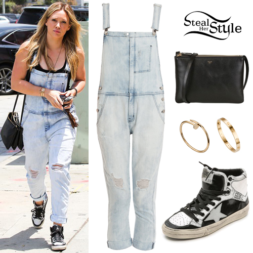 Hilary Duff arriving at Zinque Restaurant in West Hollywood. June 5th, 2015 - photo: AKM-GSI
