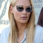 Iggy Azalea steps out wearing a new engagement ring after getting engaged to Lakers player Nick Young