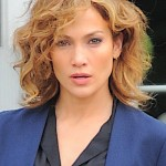 Jennifer Lopez seen filming for the TV series, 'Shades of Blue' in NYC