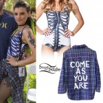 Juliet Simms: Skeleton Swimsuit