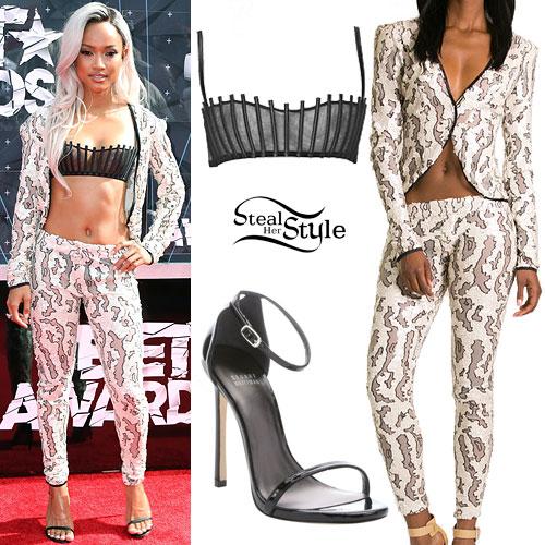 Karrueche Tran: 2015 BET Awards Outfit