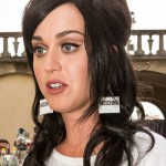 Katy Perry at the Moschino show during the 88 Pitti Uomo in Florence