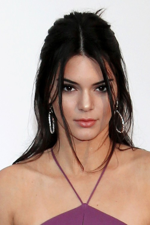 Kendall Jenner Straight Dark Brown Face Framing Pieces