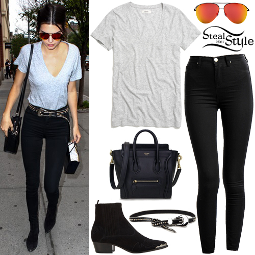 Kendall Jenner arriving at her apartment in New York. June 18th, 2015 - photo: PacificCoastNews