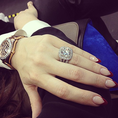 instagram kendalljenner - Khloe Kardashian Wedding Ring
