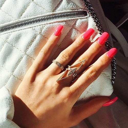 Red Nail Polish Photos Steal Her Style