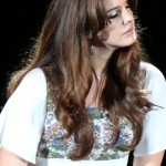 Lana Del Rey performs during a concert at Hollywood Bowl in Los Angeles