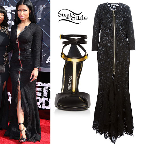 Nicki Minaj Shoes Bet Awards Style Guru Fashion Glitz Glamour Style Unplugged