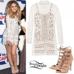 Perrie Edwards: 2015 Summertime Ball Outfit