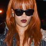 Rihanna stops at The Griffin nightclub in the Meatpacking district in NYC