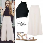 Sabrina Carpenter: Crop Top, Palazzo Pants